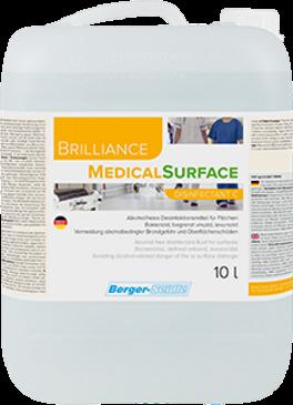 Flächendesinfektion-Brilliance MedicalSurface 10 Liter
