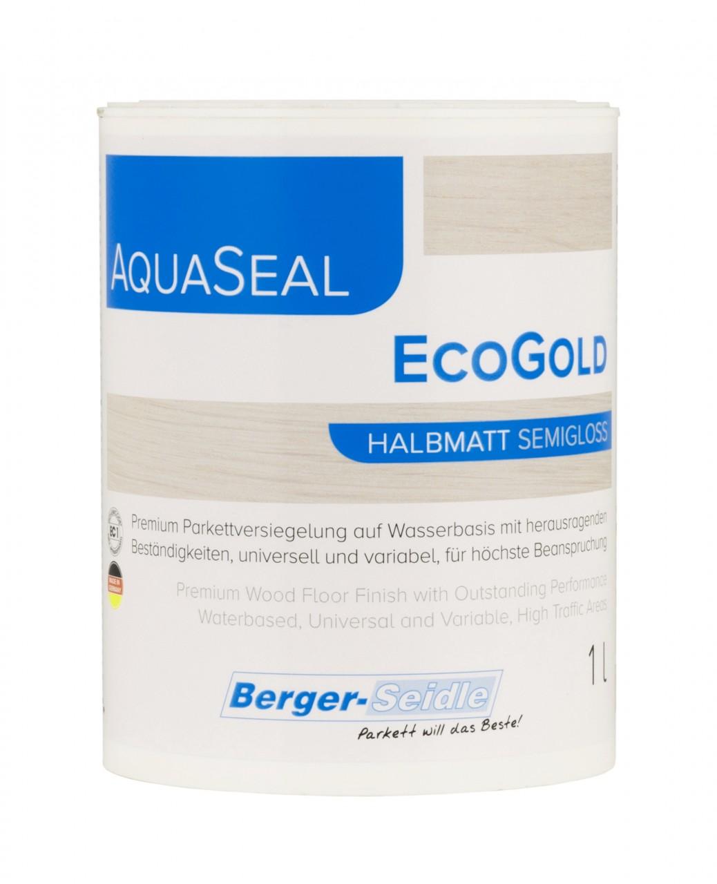 Berger Seidle - Aqua-Seal EcoGold Parkettlack