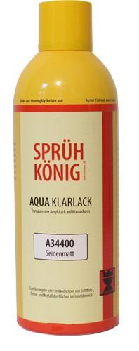 Sprüh König - Aqua Klarlack