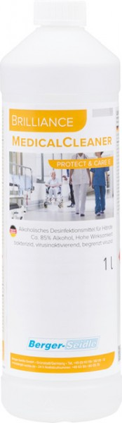 Händedesinfektion-Brilliance MedicalCleaner Protect & Care