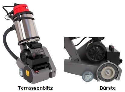 Terrassenblitz-B-rste