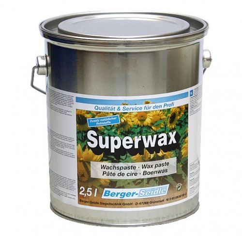 Berger-Seidle - Superwax / Fußbodenwachs - 2,5 Kg
