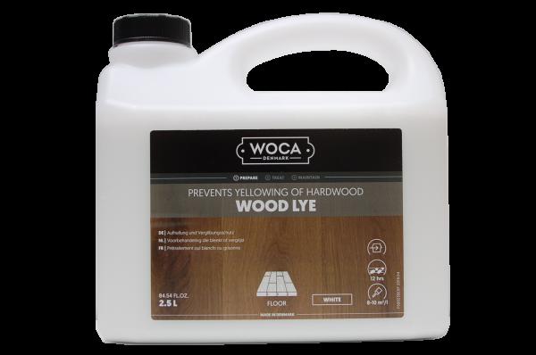 Woca Holzlauge weiß - 2,5 Liter