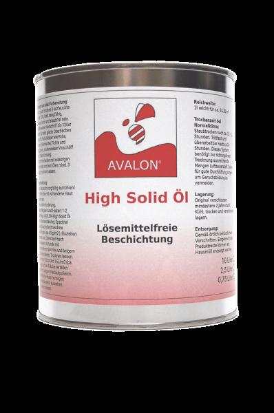 Avalon Naturharz High Solid Öl