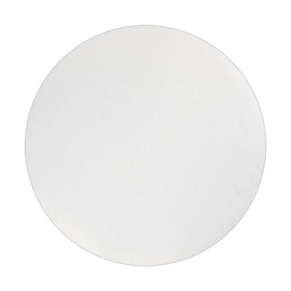 Wollpad weiß, 406 mm
