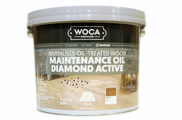 Woca Diamant Aktiv Pflegeöl natur 2,5 Liter