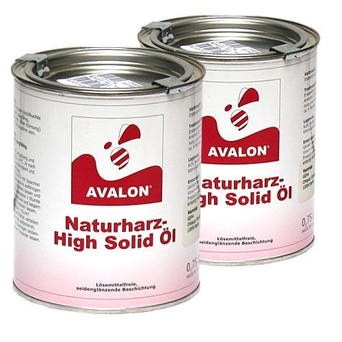 Avalon Naturharz High Solid Öl